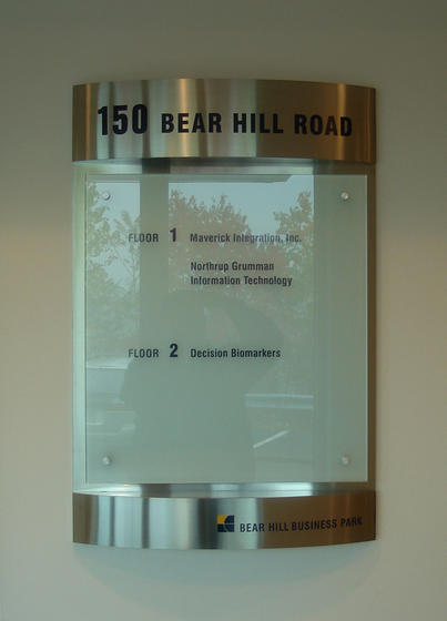 interior directory sign systems waltham ma