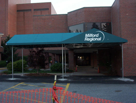 Hospital Architectural Entrance Canopy