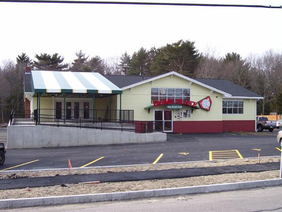 Restaurant Entrance Canopy Awning In Massachusetts
