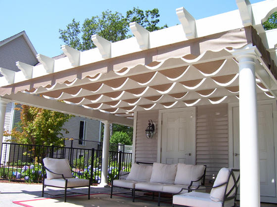 Pergola Construction Patio Covers Trellis Structure Canopy