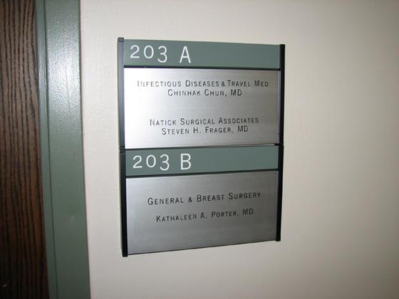Ma Directory Sign Mass Interior Sign Program