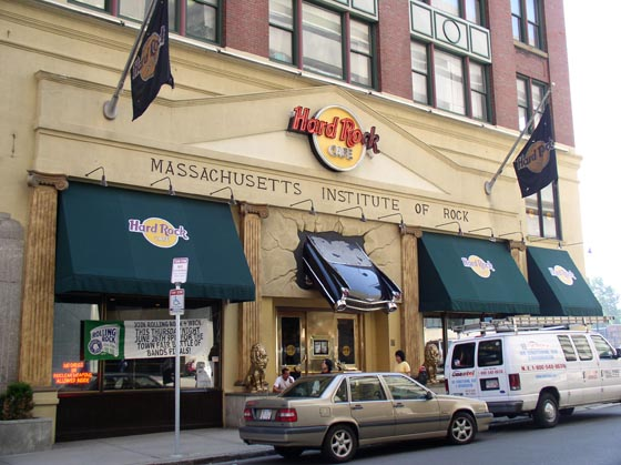 Boston Ma Hard Rock Caf 233 Awnings Boston Ma Awning Co