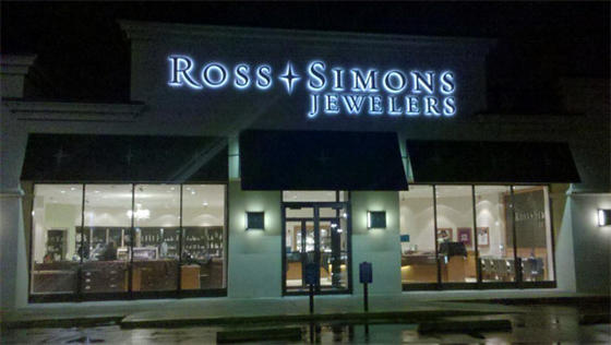 Ross Simons Jeweler Led Halo Channel Letters Jeweler